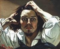 Auteur cherchant à régler ses problèmes administratifs (Courbet, le désespéré).